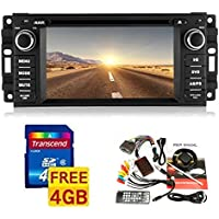 6.2 1 Din Car DVD Player for 2007-2010 Jeep/commander/wrangler with Bluetooth,gps,ipod,canbus Free Map Card