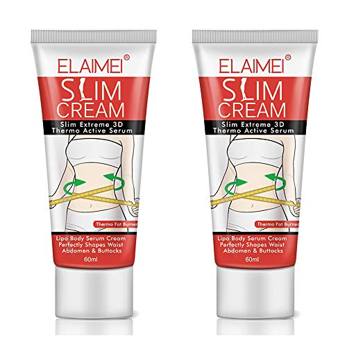 Hot Cream (2 Pack), Slim Cream, Cellulite Removal Firming Cream for Belly, Fat Burner - hermogenic Weight Loss Break Down Fat Tissu, Perfectly Shape Thighs, Legs, Abdomen, Arms and Buttocks
