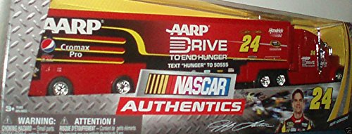 Spinmaster NASCAR #24 Jeff Gordon Collector Hauler, 1:64-Scale