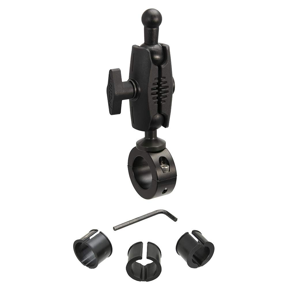Arkon 25mm Robust Aluminum Motorcycle Handlebar Mount - 17mm Ball Compatible Black Retail