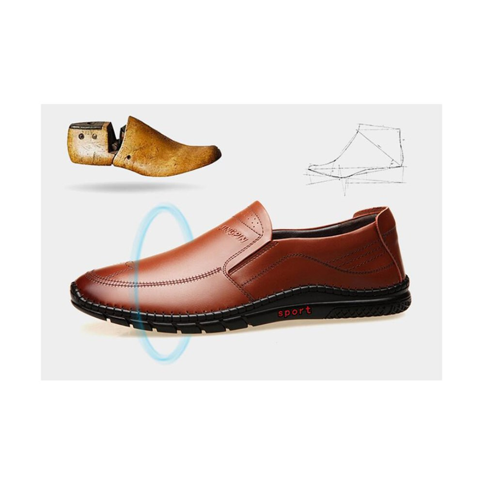 Amazon.com | GFP 2018 Mens Casual Shoes, Formal Business Work Comfy Moccasins, Flat Shoes, Loafers Shoes, Comfort Breathable Mens Fashion Shoes | Loafers ...