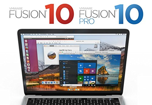 VMware Fusion 10 Pro [License key+ digital download] ()