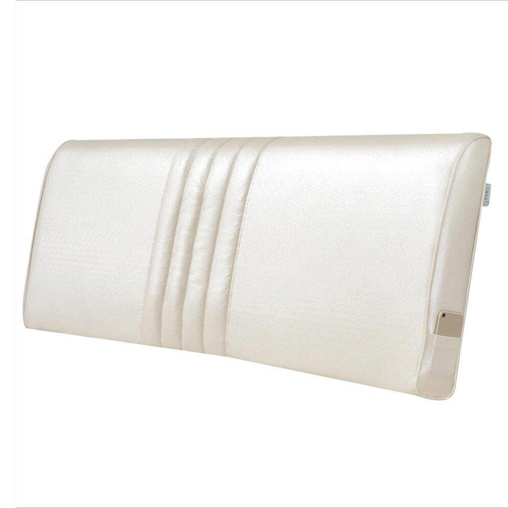 PENGFEI クッションベッドの背もたれ ヘッドボード付き/ヘッドボードなし ベッドサイドソフトパッケージ ダブル 大きな背中の枕 印刷 簡単に清掃する 取り外し可能で洗える枕カバー 3色、 4サイズ (色 : 2#without headboard, サイズ さいず : 200x60x10CM) B07F5MD4CX 200x60x10CM|2#without headboard 2#without headboard 200x60x10CM
