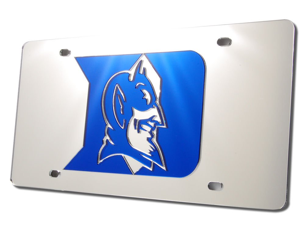 WinCraft Duke University S02804 Acrylic Classic License Plates