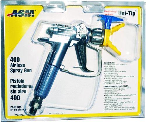 - Graco ASM 451-SG 4-Finger 400 Airless Paint Sprayer Gun with 517 Super-Zip Tip