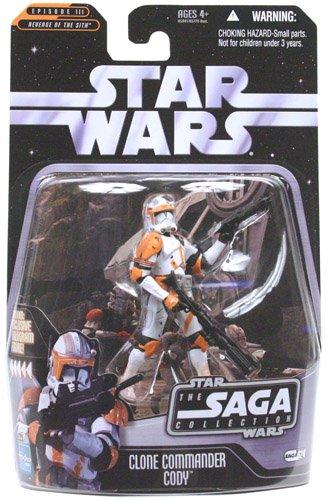 Clone Commander Cody Star - Star Wars - The Saga Collection - Episode III Revenge of the Sith - Basic Figure - Commander Cody