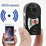 YYCAM 1280*720P HD Mini Portable P2P WiFi IP Camera Indoor/Outdoor HD DV Hidden Spy Camera Video Recorder Security Support iPhone/Android Phone/ iPad /PC Remote View