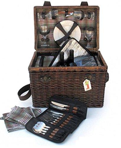 Picknickkorb–für 4Personen Boonies