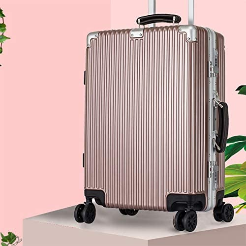 Color : Black, Size : 29 Zxl-xlx 2019 Chassis 24 inch Aluminum Frame Password Lock Universal Wheel Trolley case PC Trolley Luggage