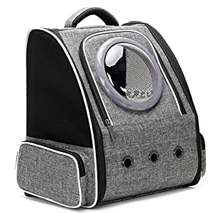 Cat Carrier Backpack Bubble, Space Capsule Pet Carrier Backpack for Small Dog and Puppy, Dog Backpack Carrier for Travel and Hiking, Airline Approved