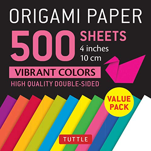 - Origami Paper 500 sheets Vibrant Colors 4