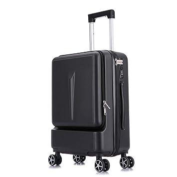 AIURBAG Ligero Equipaje Maleta Ligera,Maleta Cabina con Bolsillo Ordenador Portátil Equipaje De Mano Trolley para Viajes De Negocios con Bloqueo De TSA Y ...