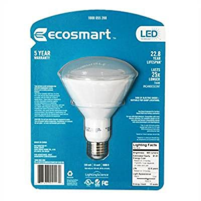 75W Equivalent Day Light (5000K) BR30 Dimmable LED Light Bulb