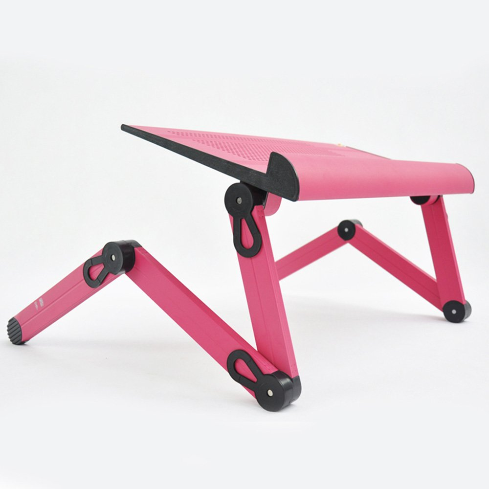 ZZHF Bureau de l'ordinateur portable de mode Lit Table de pliage paresseuse Soulever un bureau de travail simple