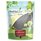 Spanish Poppy Seeds for Baking by Food to Live (Product of Spain, Kosher) - 2 Pounds