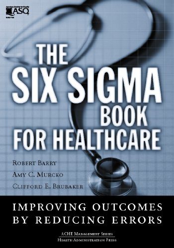 Download The Six Sigma Book for Healthcare Pdf