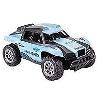 HUIFEIDEYU RC Racing Car 1/20 with 2.4G Transmitter Short Remote Control Car Model Toy for Kids Birthday Gift Blue