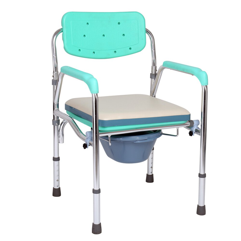Amazon.com: Bathroom Bathroom Aluminum Alloy Elderly Chair Pregnant ...