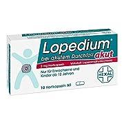 Lopedium akut bei akutem Durchfall Hartkapseln, 10 St