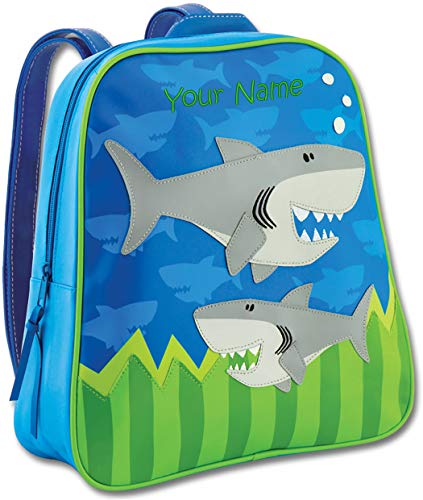 Personalized Stephen Joseph Shark Go Go Backpack with Embroidered Name