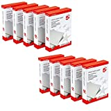 5 Star Office Value Copier Paper Multifunctional Ream-Wrapped 75gsm A4 White - 2 Boxes Containing 10 Reams