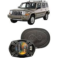 Fits Jeep Commander 2006-2010 Front Door Factory Replacement Harmony HA-R69 Speakers New