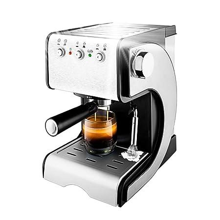 Máquina de espresso, Espumadora,1050W Descarga de Presión ...