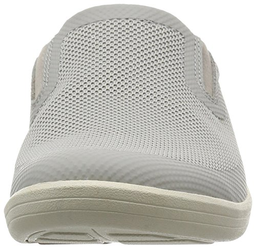 Clarks Step Loisirs Homme Basses Chaussures En Mapped Tissu Gris CrCa1pxnq