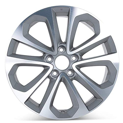 New 18 inch x 8 Replacement Wheel Alloy Rim compatible with Honda Accord 2003-2017 | Size:18 x 8 | Bolt Pattern: 5x114.3 | Offset: 55 mm | Hub Bore: 64.1 | 64048