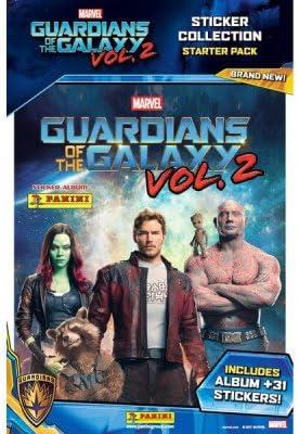 Panini Guardianes De La Galaxia Vol. 2 Movie Sticker Starter Pack ...