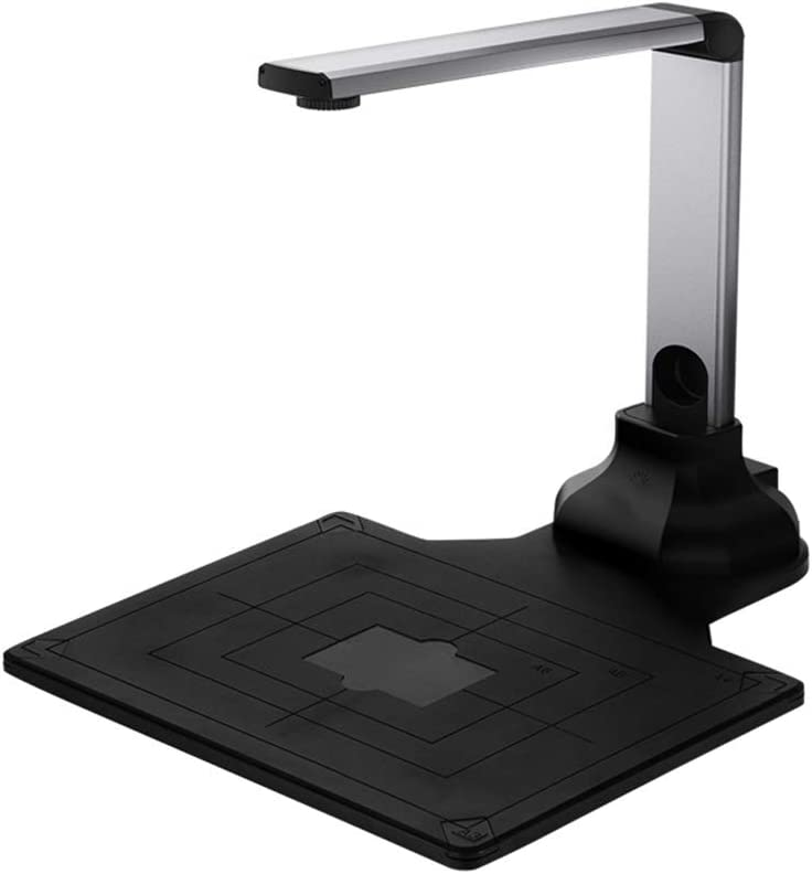 TYI -Document Camera for Teachers Scanner HD Real-Time Projector USB Portable Digital Video Recorder for Office Computers Laptop with Multifunction A4 Format, OCR Multi-Language Recognition
