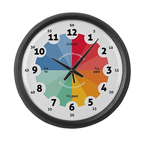CafePress Teaching Clock Unique Decorative