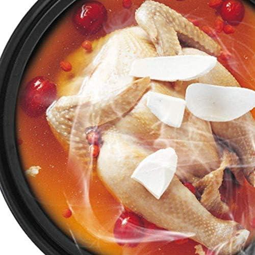 UWY Casserole Pot Pot à ragoût en Terre Cuite Casserole en céramique - Utilisation de la céramique résistante à la Chaleur, Saine et Durable, antiadhésive Pan-D