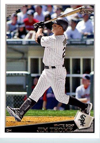 (2009 Topps Team Edition Chicago White Sox Baseball Card #CWS11 Jim Thome)