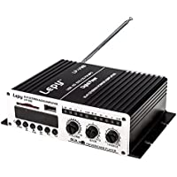 Lepy LP-V9S Hi-Fi stereo power digital amplifier with USB SD DVD CD FM MP3