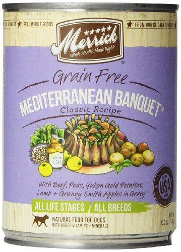 Merrick Mediterranean Banquet Dog Food 13.2 oz (12 Count Case)