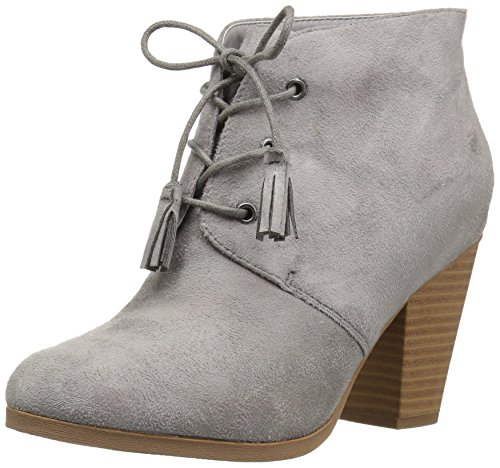 Brinley Co Women's Whit Ankle Boot Grey