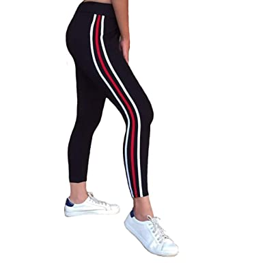 2019 professional attractive style factory price Angel f Studio Side Stripe Stretchable Womens Jeggings