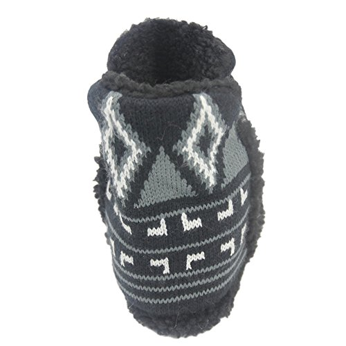 Winter Slipper amp;gray Slippers Women's amp;white Boot Home Faux Black Indoor Warm Shoes House Fur UE1qnwd
