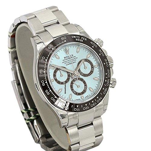 Rolex Cosmograph Daytona Ice Blue Dial Platinum Mens Watch - Diamond Platinum Watch