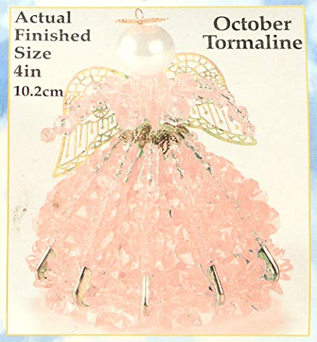 (Birthstone Angel Christmas Ornament Kit 12 Colors/Months (October))