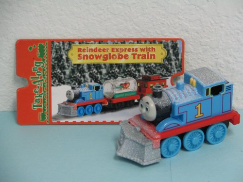 (New 'REINDEER EXPRESS' Take Along Thomas & Friends Train Die-cast Engine Loose Item Includes Exclusive Collector Card Retired Item)