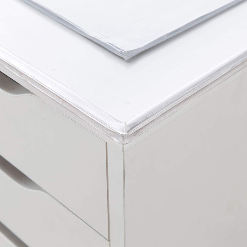 5Meter AOZBZ Transparent Table Edge Protectors Corner Guards Safe Corner Guards Bumper Strip with Double-Sided Tape for Table Desk Cabinet Wardrobe Sharp Corner