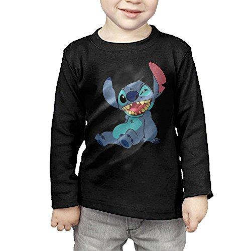 The Children's Lilo And Stitch Wink Long Sleeve Tee