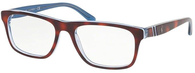 Amazon.com: Gafas de sol Polo PH 2211 5786 TOP HAVANA/AZURE ...