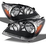 honda odyssey headlamp - Honda Odyssey Chrome OE Replacement Headlights Driver/Passenger Head Lamps Pair