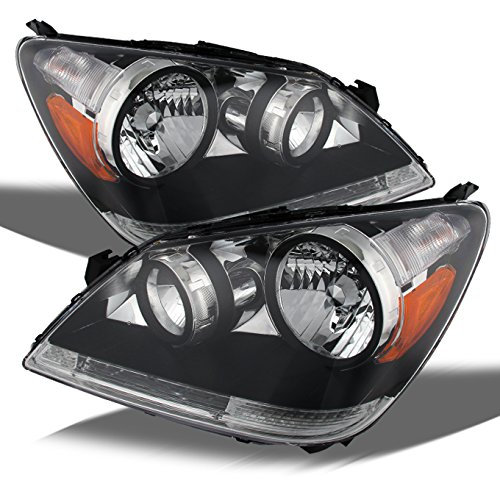 honda-odyssey-chrome-oe-replacement-headlights-driver-passenger-head-lamps-pair