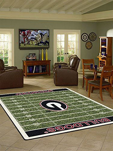 2706 Rug (Georgia College Home Football Field Rug: 5'4
