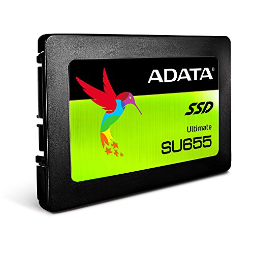 ADATA SU655 120GB 3D NAND 2.5 inch SATA III High Speed Read up to 520MB/s Internal SSD (ASU655SS-120GT-C)