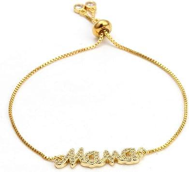bracelet femme avec lettre